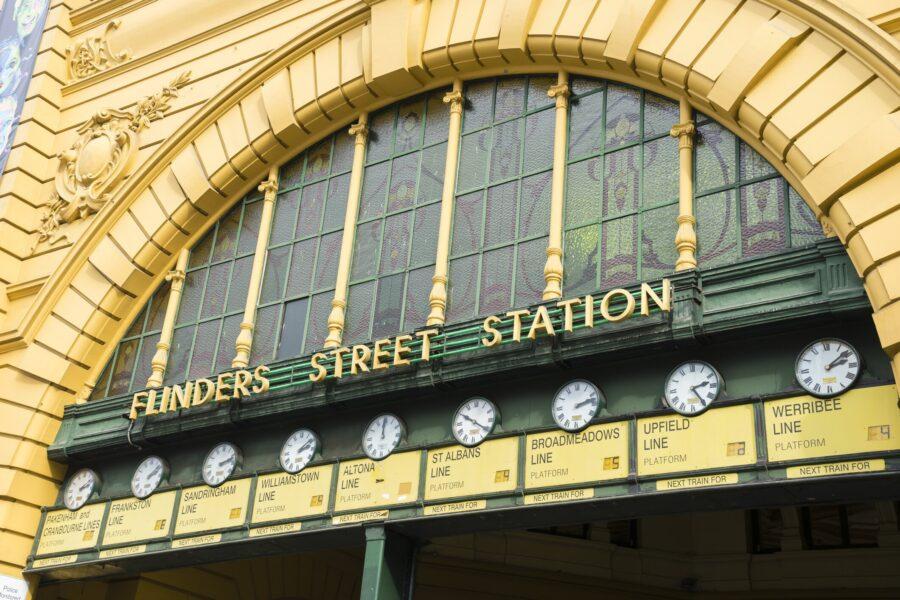 Flinders-st-clocks
